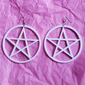 FREE⭐Large Pentagram Earrings